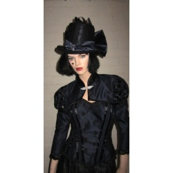 Corset with matching bolero jacket